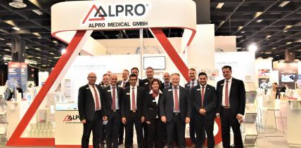 ALPRO – Zuverlässige Produkte, zuverlässige Messepräsenz