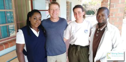 Bösing Dental unterstützt Zahntechnik in Sambia mit Spende