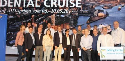 Für ein starkes Team – 10. Dental-Cruise Reise