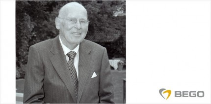 BEGO trauert um Senior-Gesellschafter Joachim Weiss