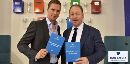 """BLUE SAFETY: Wasserkeimen die """"Blaue Karte"""" zeigen"""