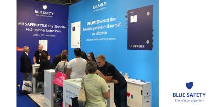 BLUE SAFETY berät auch in Frankfurt zum Thema Wasserhygiene