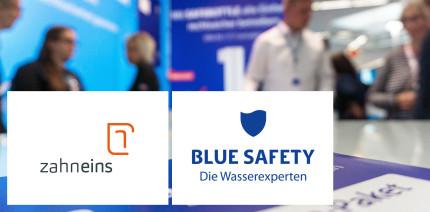 zahneins & BLUE SAFETY: Innovatives Hygiene-Technologie-Konzept