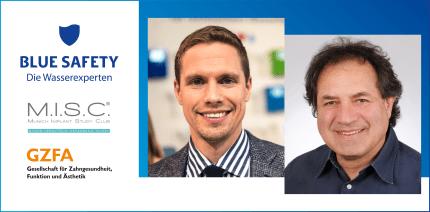 Neue Partnerschaft: M.I.S.C. Munich Implant Study Club und BLUE SAFETY
