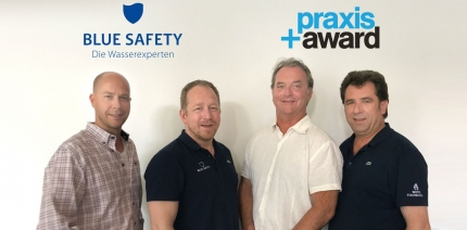 Praxis+Award und BLUE SAFETY: Strategische Partnerschaft