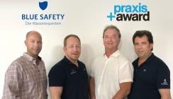Praxis+Award und BLUE SAFETY: Strategische Partnerschaft