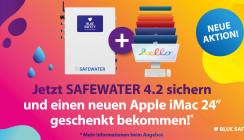 Jetzt SAFEWATER 4.2 sichern und iMac geschenkt bekommen