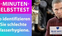 3-Minuten-Selbsttest: Schlechte Wasserhygiene enttarnen