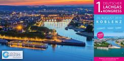 PREMIERE: 1. Deutscher Lachgas-Kongress in Koblenz