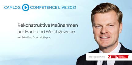 CAMLOG Livestream mit PD Dr. Arndt Happe jetzt online