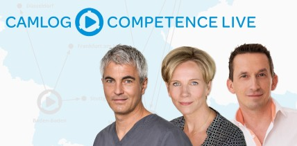 CAMLOG COMPETENCE LIVE 2020 mit Live-OP-Streamings
