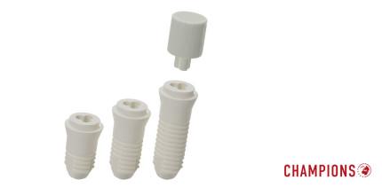 Keramik-Implantate ein- und zweiteilig jetzt auch in short & ultrashort