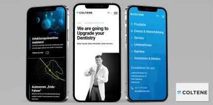 Modern und praxisnah: COLTENE präsentiert neues Infoportal