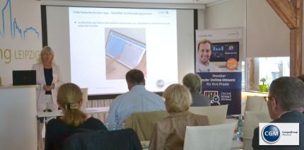 CGM stellt in Leipzig neue Online-Schaltzentrale vor