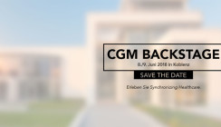 Kurzentschlossene aufgepasst: CGM BACKSTAGE am 8. und 9. Juni