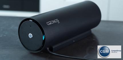Saubere Sache mit System: OZONOS – und die Praxisluft ist clean!