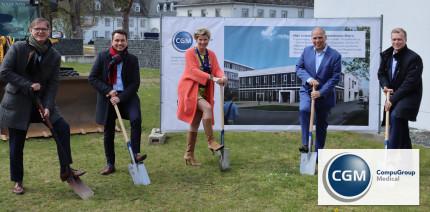 """Neubau: CGM wertet Campus in Koblenz für """"New Work"""" weiter auf"""