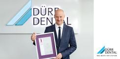 """DÜRR DENTAL SE als """"Innovator 2019"""" ausgezeichnet"""