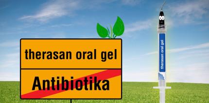 Entzündungen in der Mundhöhle? Therasan oral gel ist die Lösung