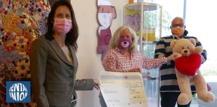 Auch 2020 Spendenaktion der Dental-Union GmbH für Bärenherz