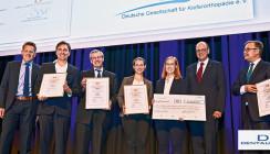 Fünf Arnold-Biber-Preisträger: Teamarbeit hat überzeugt