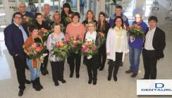 Dentaurum Jubilare und Pensionäre werden geehrt