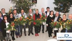 Viele Glückwünsche zum Jubiläum: Jubilarsfeier bei Dentaurum
