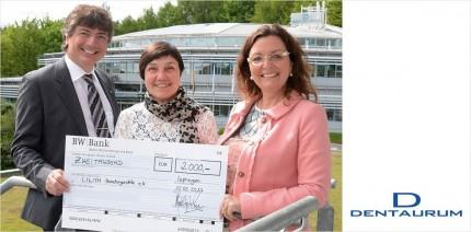 Dentaurum unterstützt Lilith Beratungsstelle in Pforzheim