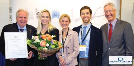 Wissenschaftlicher Förderpreis in Kitzbühel von Dentaurum überreicht