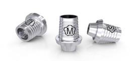 CAD/CAM Titanklebebasen für das tioLogic® TWINFIT