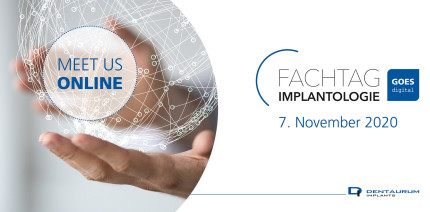 Dentaurum Implants: Fachtag Implantologie goes digital