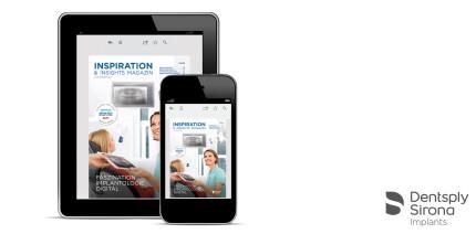 Kundenmagazin von Dentsply Sirona Implants mit neuer Ausgabe