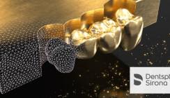 Golden Surfer: neuer Edelmetall-Frässervice von Dentsply Sirona