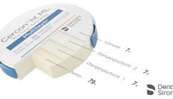 Neue Cercon Multilayer-Lösung von Dentsply Sirona
