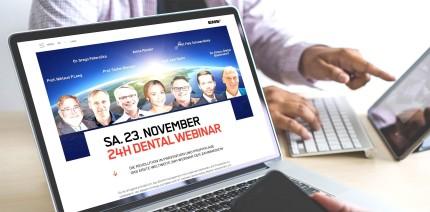 31 Referenten und 31 CME-Punkte: 1. weltweites 24-Stunden-Webinar