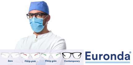 Hygienespezialist Euronda stellt neue Schutzbrillen vor
