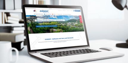 Eine Hinguckerwebsite – Die neue Homepage von EVIDENT ist online