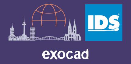 exocad kündigt bislang größten Auftritt auf der IDS 2021 an