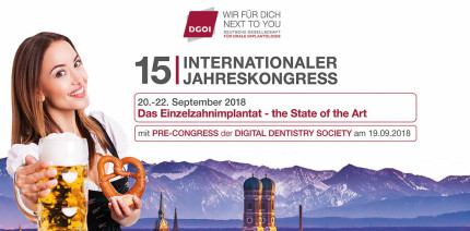 15. Internationaler Jahreskongress der DGOI mit Pre-Congress der DDS
