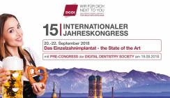 15. Internationaler Jahreskongress der DGOI mit Pre-Congress der DDS