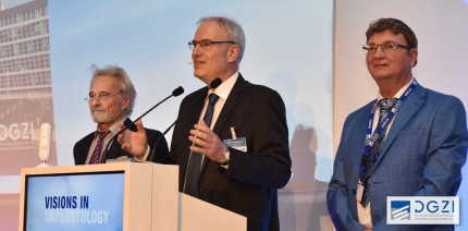 Dr. Georg Bach zum neuen DGZI-Präsidenten gewählt