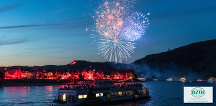 Rhein in Flammen: Beliebt wie das Oktoberfest