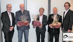 ITI Study Club Freiburg verabschiedet Direktoren-Trio