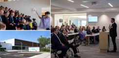 GC America eröffnet neuen hochmodernen Gebäudekomplex