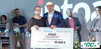 Forschungskooperation von GC: INTOA! Entrepreneurial Act of the Year