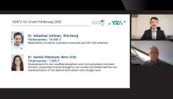 DGR²Z-Forschungsgrants auf dem digitalen DGZ-Kongress vergeben