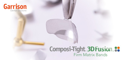 Garrison Dental Solutions stellt neue stabile Matrizenbänder vor