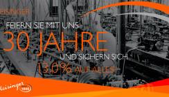 130 Jahre Hager & Meisinger GmbH: Attraktive Rabatte zum Firmenjubiläum