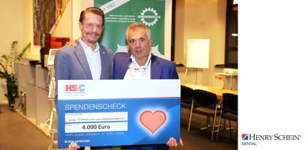 Henry Schein spendet 4.000 Euro an KINDERHILFE in Berlin