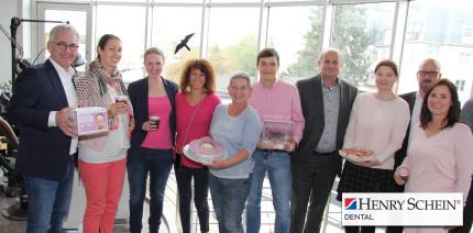 Henry Schein: Spendenaktion zugunsten von Brustkrebs-Patientinnen